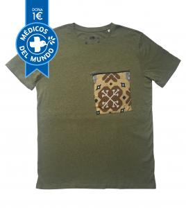 camiseta chico KAKI hidraulika algodón orgánico